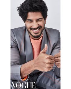 Dulquer Salmaan Funny Still From Vogue Magazine October Cover - Social News XYZ Inheritance of gloss. Celebrating the best of the South this with My True Love, New Love, What Is Love, Romantic Love Photos, True Love Photos, Teenage Love, Actor Photo, Handsome Actors, Selfie Time