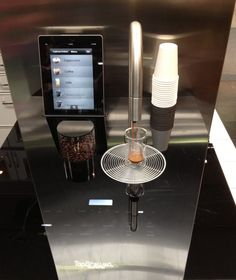 Your iPhone can now make you a cup of coffee! TopBrewer is a built-in coffee system that integrates directly into your countertop and is operated by IOS devices.