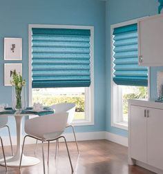 Blue is the best color to use if you are trying to create a nice, relaxing atmosphere in your home.