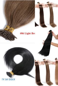 Micro rings extensions indian hair remy human hair 65-70cm