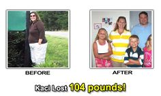 How Kaci lost 104 pounds