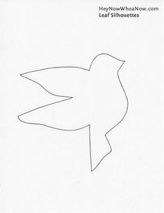 bird template | bird+silhouette+template