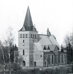 Rautu church, Finnish Carelia. Today on the Russian side of border.