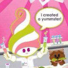 Menchie at Menchie's Frozen Yogurt Fro Yo