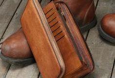 Handmade long wallet leather men phone zip clutch vintage wallet for m Best Leather Wallet, Handmade Leather Wallet, Card Wallet, Clutch Wallet, Vintage Leather, Leather Men, Handmade Wallets, Leather Notebook, Day Bag