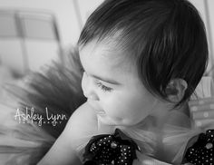 Parma, Ohio| Newborn, baby, child, family photographer.   1 year old baby girl, birthday, dimples, black and white.   www.facebook.com/a.lynnphotography2013