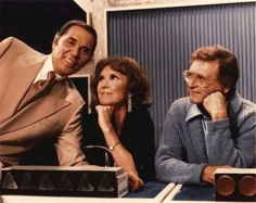 Gene Rayburn, Brett Somers, and Charles Nelson Reilly