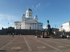 The Helsinki cathedral  #Finland#Helsinki#Cathedral#white architecture