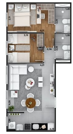 Sims 4 house ideas Gray Things gray color ideas for living room Sims House Plans, House Layout Plans, Modern House Plans, Small House Plans, House Floor Plans, Layouts Casa, House Layouts, Room Layouts, Apartment Layout