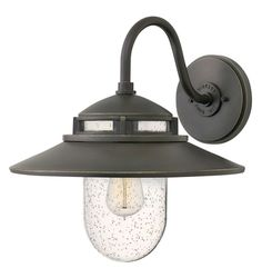 Hinkley Lighting 1114 1 Light Outdoor Wall Sconce From the Atwell Collection Oil Rubbed Bronze Outdoor Lighting Wall Sconces Outdoor Wall Sconces