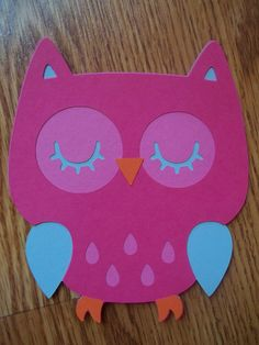 Owl Birthday Party Baby Shower Invitations- Set of 8