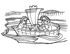 medieval feast coloring pages - photo#38