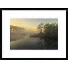 Global Gallery, Ellen Borggreve 'Nature's Painting' Framed Giclee Print