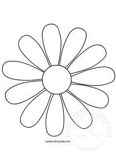 Daisy Flower Daisy Flower Outline