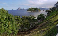 Ilha da Boa Viagem - Niterói - Rio de Janeiro - Baía de Guanabara - Ponte - Pão de Açúcar - Cristo Redentor - Gragoatá - Icaraí - Brasil - Brazil - Copa do Mundo - World Cup