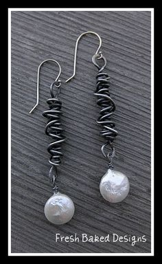 Beautiful!! Love annealed steel jewelry.