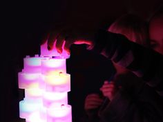 Crowdfund these clever LEDs that change colour depending on how they're stacked
