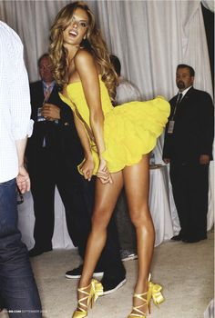 Favorite VS model! Love the yellow