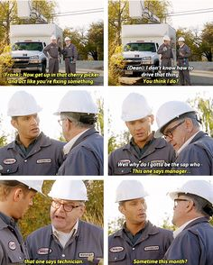 [gifset] 7x11 Adventures In Babysitting #SPN #Dean #FrankDevereaux <<< Haha! I enjoyed Frank as a character :) He fit right in with the sass lol