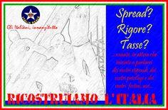 Ricostruiamo l'Italia - Manifesto   ITALIA REALE - Stella e Corona