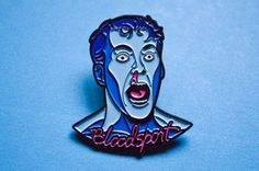 Bloodsport Enamel Pin Jean Claude Van Damme Movie by MutantPins