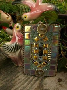 Mosaic Light Switch Cover