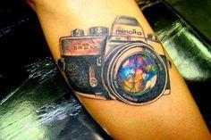 Fredo Rivera tattoo camera