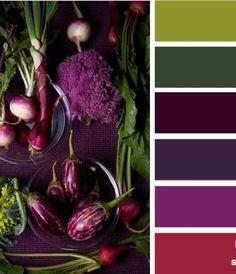 Rich colors : produced purple
