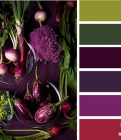Rich colors : produced purple