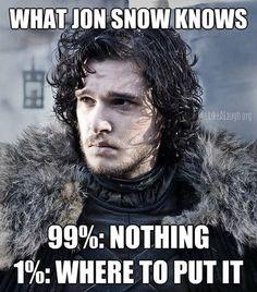 What Jon Snow knows