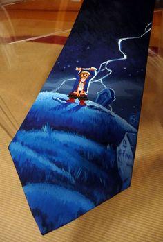 Diggin' Guybrush Tie