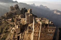 The breathtaking beauty of Yemen, a war-torn land - Jebal Shugruf in the Haraz mountains.