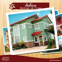 We're inviting you to take a look at Sabine, a single attached house model here at Bellefort Estates. At a height of two storeys, it has a lot area of 110sqm and a floor area of 85sqm. Inside are 4 bedrooms, 2 toilet and baths, a living area, dining area, kitchen area, laundry and service area, and provision for two-car garage.  Get your FREE tripping and house viewing assistance now. Contact us at +63917-308-2542  or visit www.bellefortcavite.com for more info.