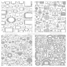 Technics a Background  #GraphicRiver         Set of a background of the technician. The vector illustration, includes EPS, and JPG files. 100% vector, colour profile RGB.     Created: 29July13 GraphicsFilesIncluded: VectorEPS Layered: No MinimumAdobeCSVersion: CS Tags: art #background #collection #communication #computer #connection #design #electronics #illustration #image #industry #innovation #internet #knowledge #mobile #phone #server #silhouette #structure #technology #tv #vector