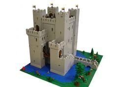 Lego Rochester Castles