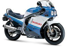 1985 to 1987 - The First Modern Race-Replica, Suzuki GSX-R750