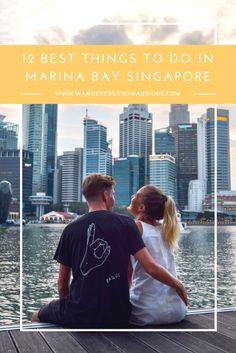 Wanderers & Warriors - Charlie & Lauren UK Travel Couple - 12 Best Things To Do In Marina Bay Singapore