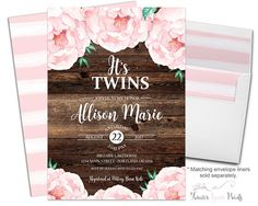 Rustic Floral Twin B