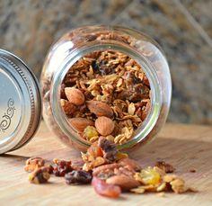Vanilla Honey Nut Raisin Granola Recipe From Scratch