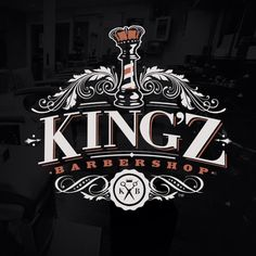 Branding treatment for Kingz Barbershop. By Ian Young @ ...