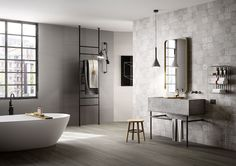 Salle bain design the year safe home inspiration luxe couleur intended rustique contemporaine moderne plan carrelage Contemporary Bathroom Designs, Best Bathroom Designs, Contemporary Interior Design, Modern Bathroom Design, Bathroom Interior, Design Kitchen, Bathroom Ideas, Bad Inspiration, Bathroom Inspiration