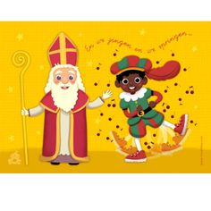 card Sinterklaas - Designed by Petite Miri Fall Crafts, Arts And Crafts, Reno, Christmas Activities, Pikachu, Saints, Christmas Ornaments, Cards, Poster