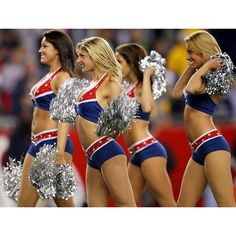Top cheerleaders of the NFL 2012 ❤ liked on Polyvore