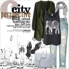 Designer Clothes, Shoes & Bags for Women City Girl, City Chic, Alexander Wang, Polyvore Fashion, Balenciaga, Stuff To Buy, Clothes, Shopping, Collection