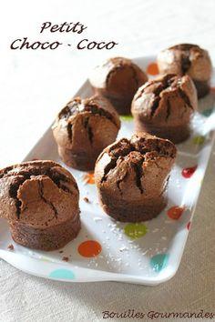 Petits gâteaux au chocolat et à la noix de coco