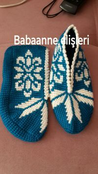 Knitted Slippers, Slipper Socks, Baby Knitting Patterns, Mittens, Diy And Crafts, Baby Shoes, Crochet Hats, Stitch, Kids