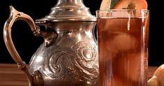 Découvrez cette recette de Thé aux fruits pour 4 personnes, vous adorerez! Tranches D'orange, Fruit Tea, Lemon Slice, Ice, Drinks, Lemonade
