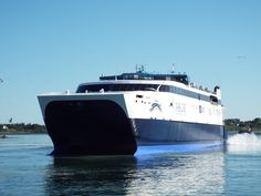 Save hours driving time traveling between Maine and Nova Scotia by choosing The Cat ferry, linking Yarmouth, NS and Bar Harbor, ME. Nova Scotia, Time Travel, Maine, Boat, Adventure, Photos, Instagram, Dinghy, Pictures