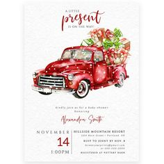 Winter Baby Shower Invitation | Forever Your Prints