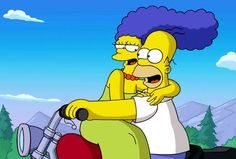 """Homer and Marge Simpson """"The Simpsons"""""""